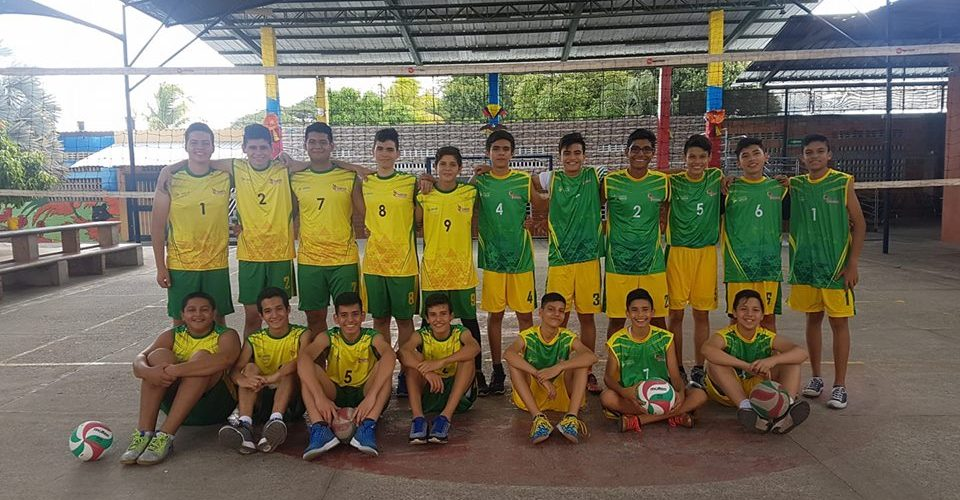 Equipos de Voleibol Pre-Juvenil y Juvenil
