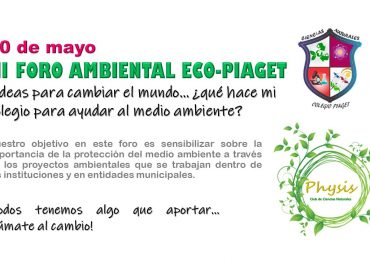 III Foro Ambiental Eco-Piaget